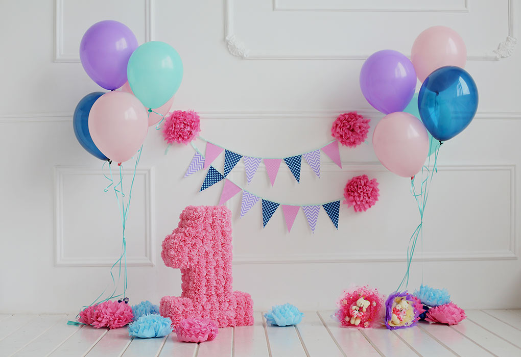 How to arrange your child's first birthday party
